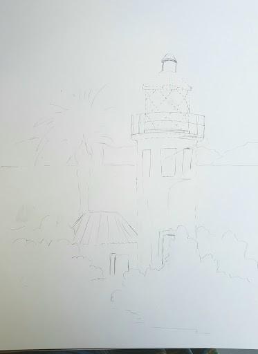 VeryCreate.com lighthouse outline