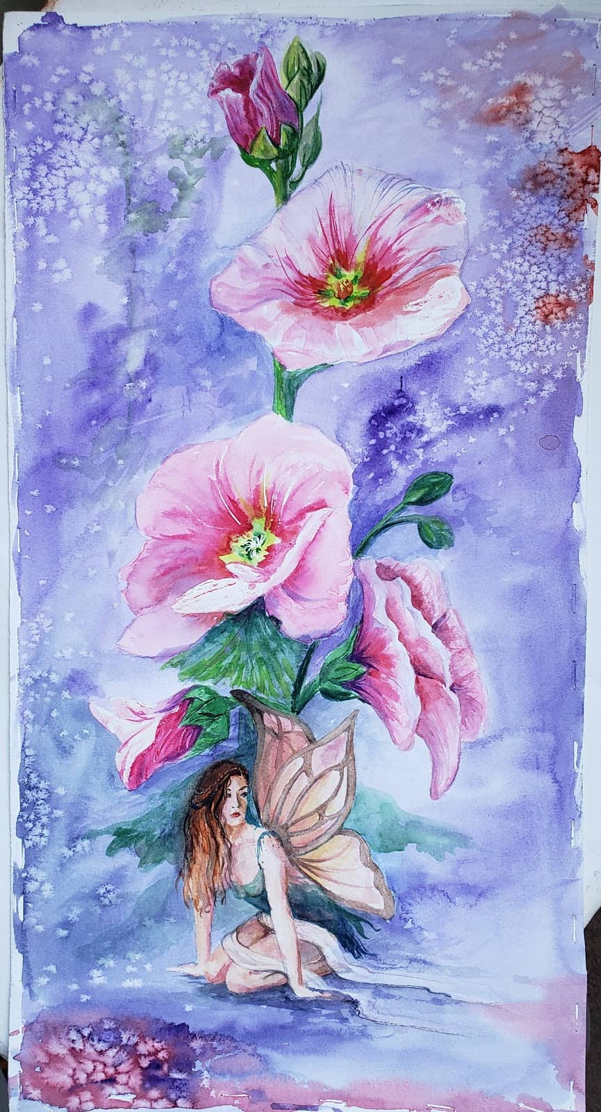 Hot Press or Cold Press Watercolor - Image 2 arches 140lb fairy and salt