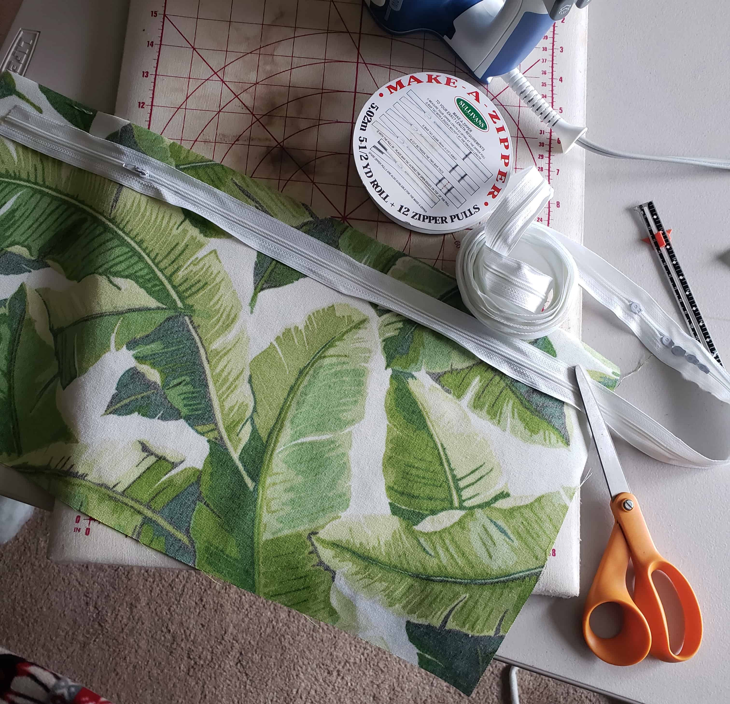 strethed out Make A Zipper tape