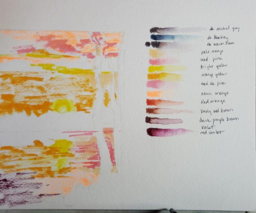 Using Watercolor Brush Pens 6 Easy Steps To Create A Stunning Sunset Painting Verycreate Com