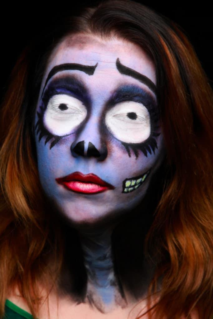 cosplay face woman best body paint verycreate.com