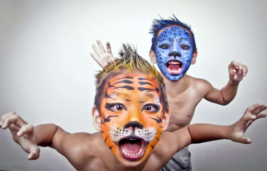 kids painted best body paint verycreate.com