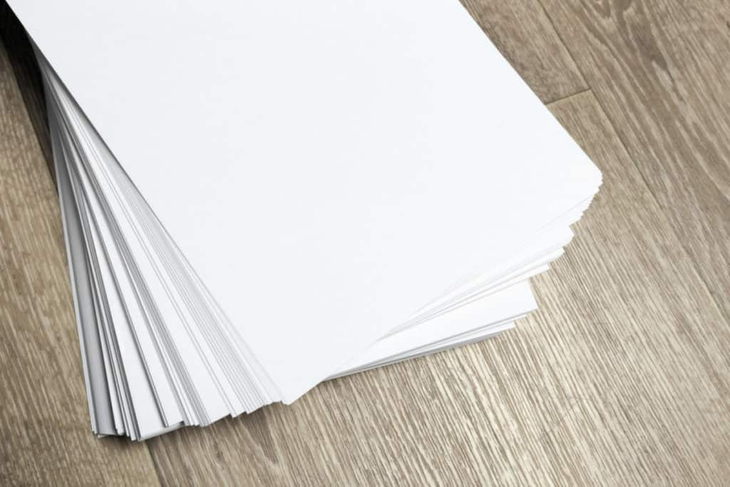 stack of blank paper Best Paper for Copic Markers verycreate.com