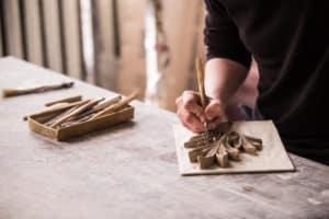 sculpting fleur de lis best clay for sculpting verycreate.com