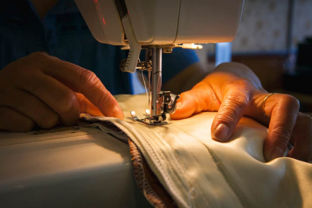 several layers fabric Best Heavy Duty Sewing Machines verycreate.com