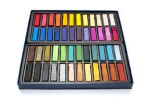 box of artist pastels soft pastel vs chalk pastel verycreate.com