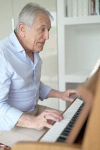 old man at piano Is It Too Late To Learn The Piano verycreate.com