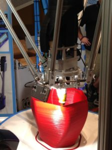 red printing best Delta 3D Printer verycreate.com