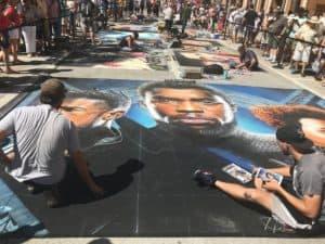 chalk art festival soft pastel vs chalk pastel verycreate.com