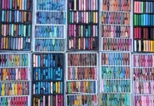 many soft artist pastels soft pastel vs chalk pastel verycreate.com