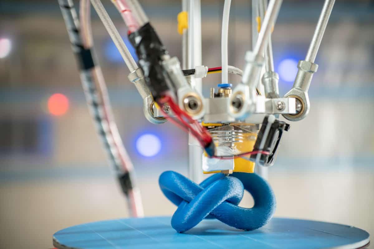 blue object best Delta 3D Printer verycreate.com