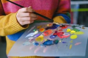 acetate sheet palette oil painting palette verycreate.com