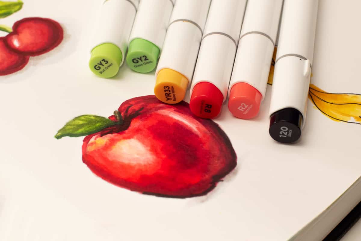 apple are copic markers alcohol based verycreate.com
