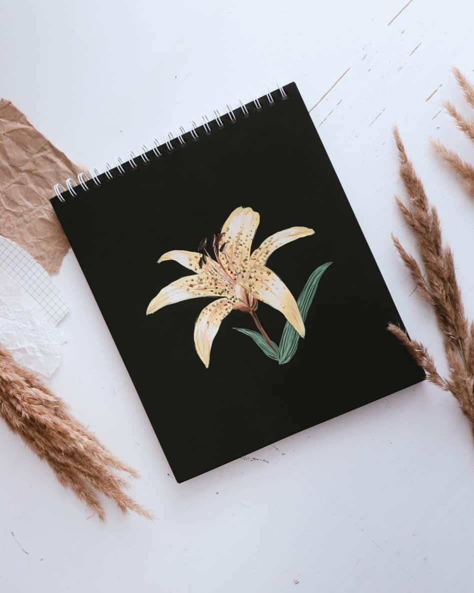 gouache iris goache vs watercolor verycreate.com