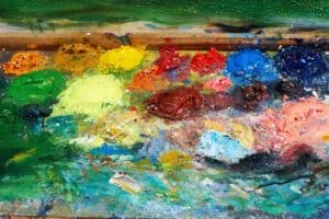 gunky palette 2 oil painting palette verycreate.com