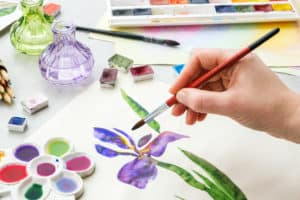 iris transparent wc goache vs watercolor verycreate.com