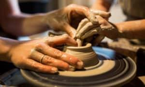 adult and child teach learn hands best pottery wheel verycreate.com