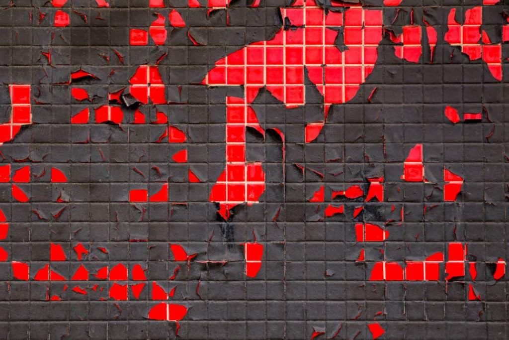 latex on tile wall peeling Enamel vs. Latex Paint verycreate.com