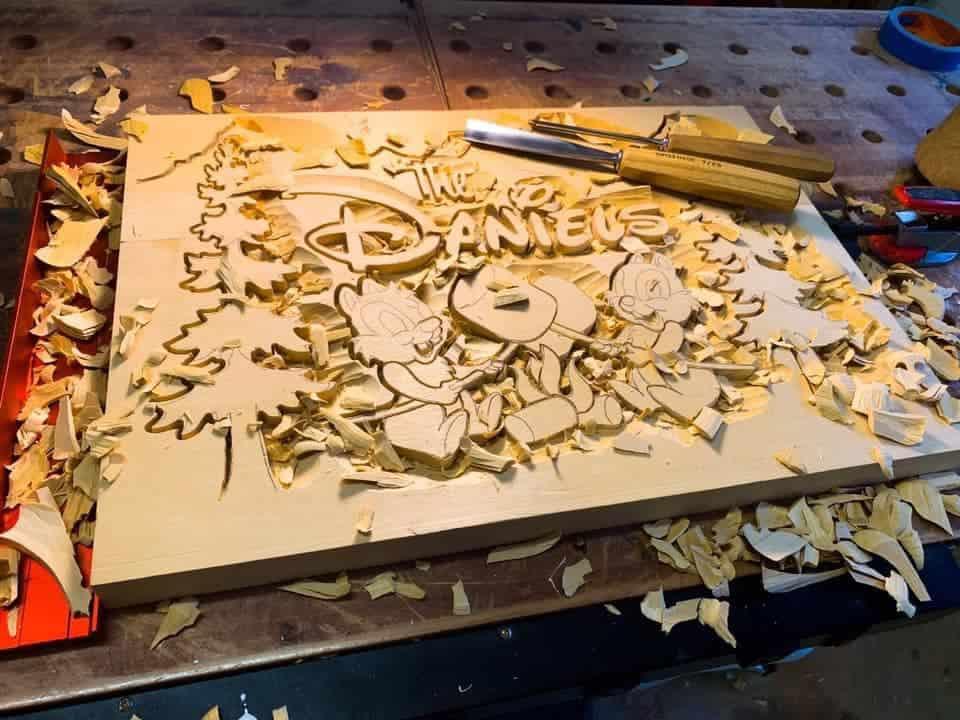 raymond kinman - woodcarving - verycreate.com 3