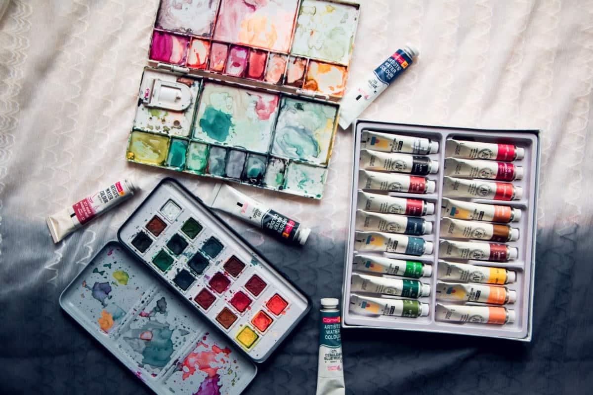 pans and tubes watercolors gouache vs watercolor verycreate.com