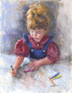 Little Artist susan kuznitsky - verycreate.com Creator Spotlight