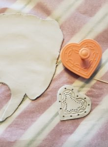 heart cutout how to waterproof airdry clay verycreate.com