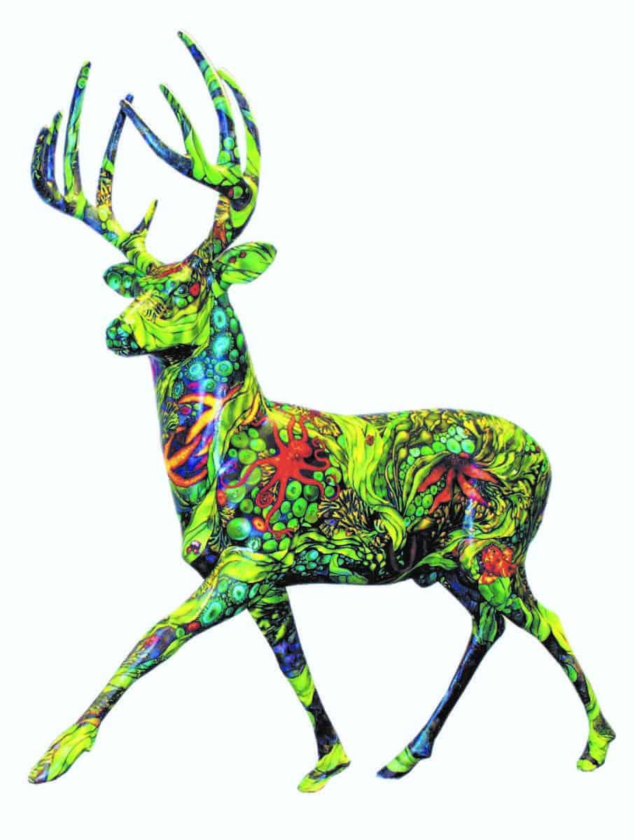 deer fiberglass Suzy Cyr verycreate.com Creator Spotlight verycreate.com
