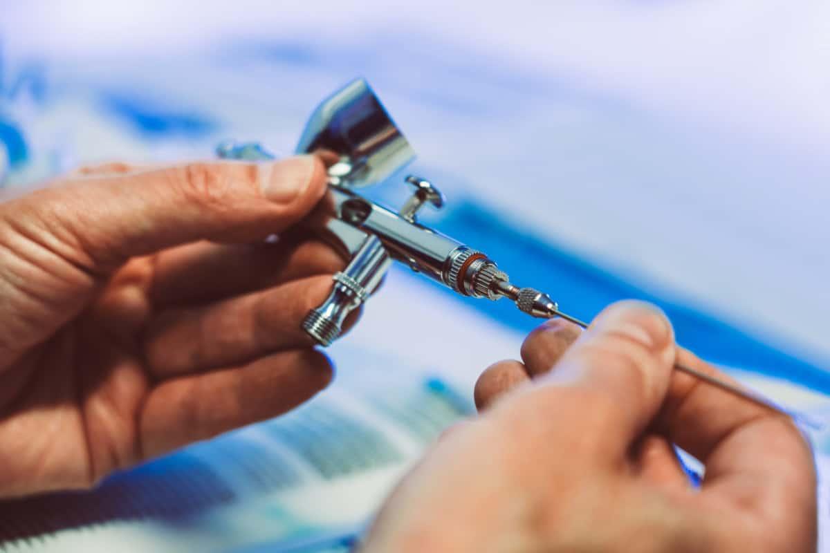 close up clean airbrush how to clean an airbrush verycreate.com