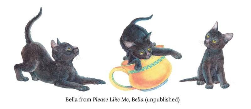 black cats jo gershman verycreate.com creator spotlight verycreate.com