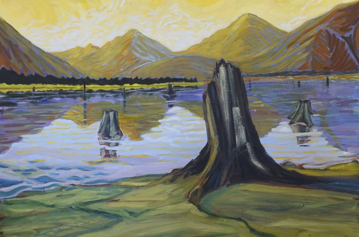 Bumping Lake kathleen kemly verycreate.com creator spotlight verycreate.com