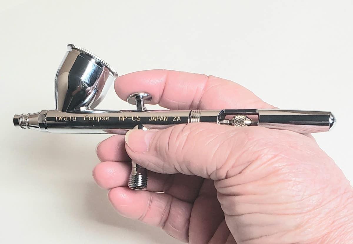 eclipse brush Iwata Eclipse HP CS Review verycreate.com